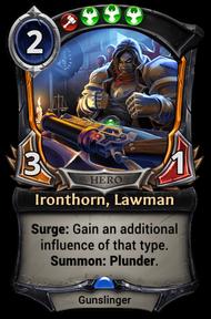 Ironthorn, Lawman