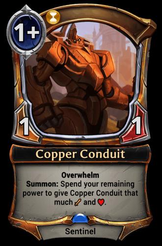 Copper Conduit card