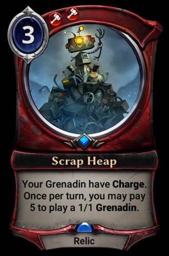 Scrap Heap card