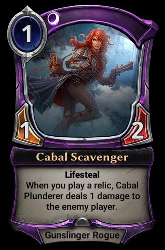 Cabal Scavenger card
