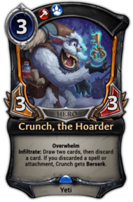 Crunch, the Hoarder