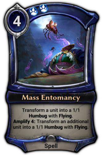 Mass Entomancy card