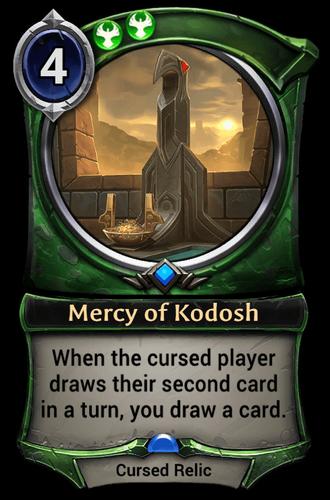 Mercy of Kodosh card