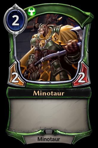Minotaur card