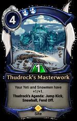 Thudrock's Masterwork