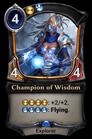Champion of Wisdom