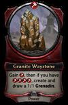 Granite Waystone
