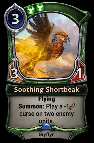 Soothing Shortbeak card