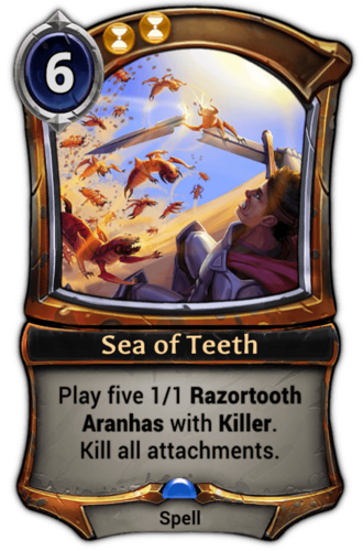 Sea of Teeth card