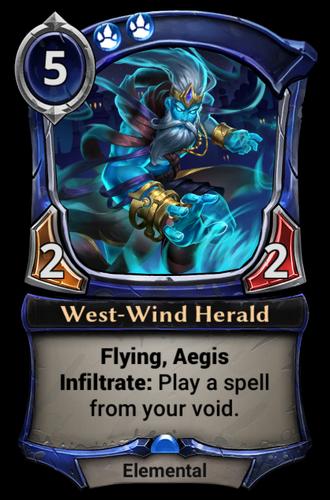 West-Wind Herald card