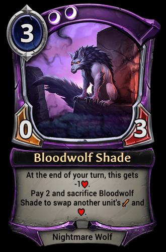 Bloodwolf Shade card