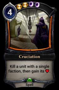 Cruciation