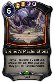 Eremot's Machinations