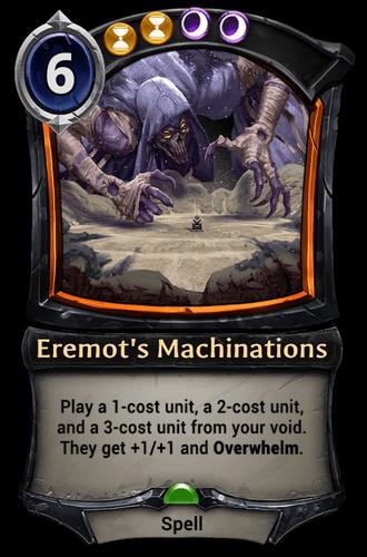 Eremot's Machinations card