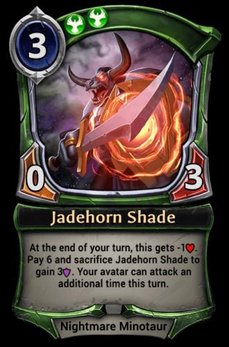 Jadehorn Shade card