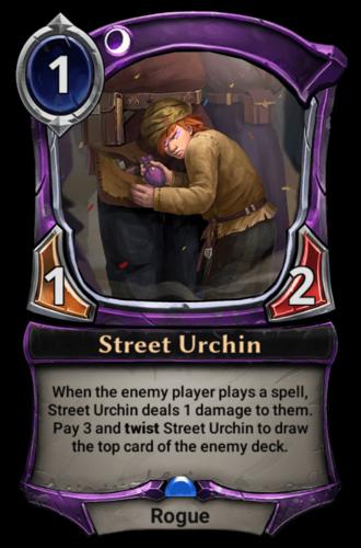 Street Urchin card