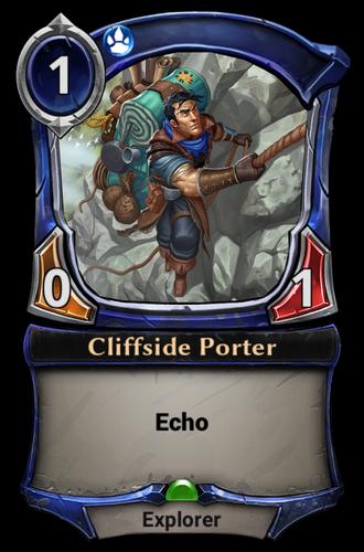 Cliffside Porter card