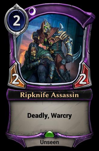 Ripknife Assassin card