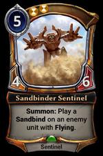 Sandbinder Sentinel