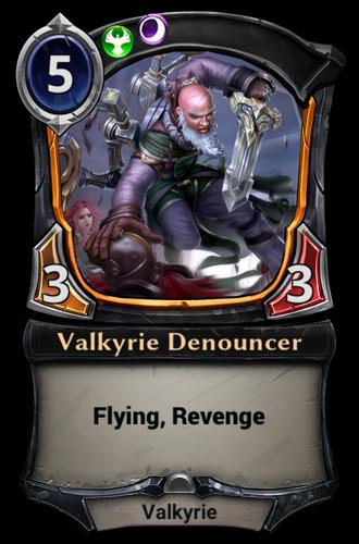 Valkyrie Denouncer card