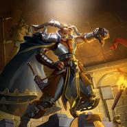 Full Art - Grinva, Judge of Battles