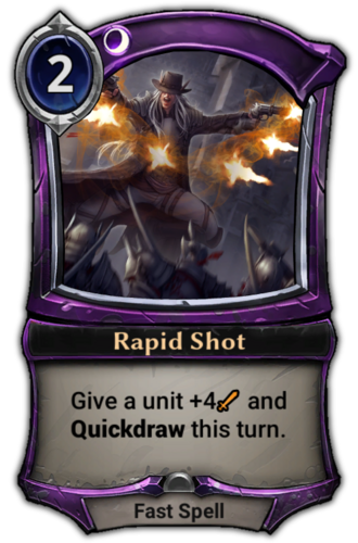 Rapid Shot card
