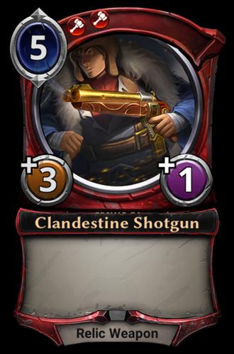 Clandestine Shotgun card