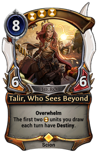 Talir, Who Sees Beyond