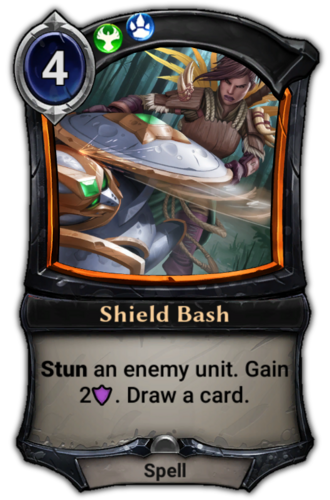 Shield Bash card