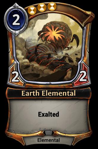 Earth Elemental card