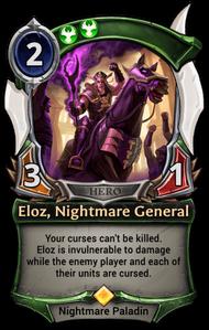 Eloz, Nightmare General