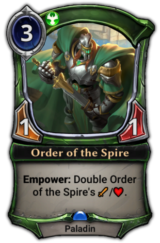 Order of the Spire card