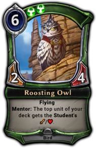 Patch 1.22 version of Roosting Owl.