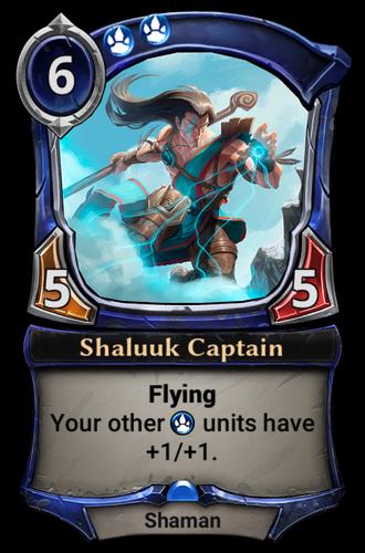 Shaluuk Captain card