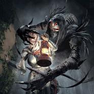 Full Art - Eremot, the Gathering Dark