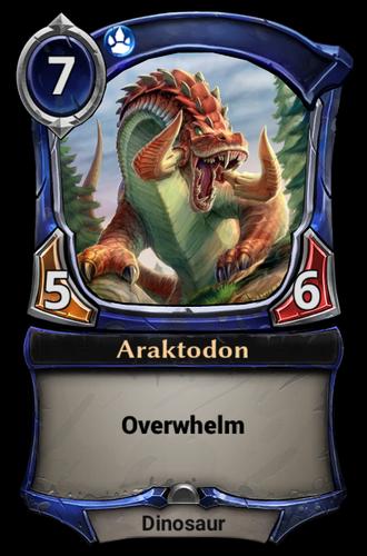 Araktodon card
