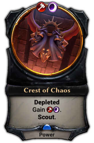 Crest of Chaos card