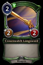 Crownwatch Longsword