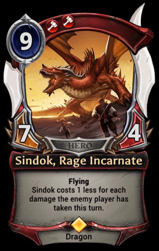 Sindok, Rage Incarnate card