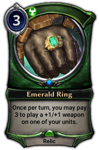 Emerald Ring card