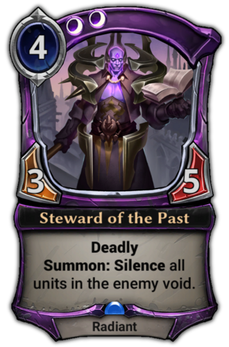Steward of the Past card