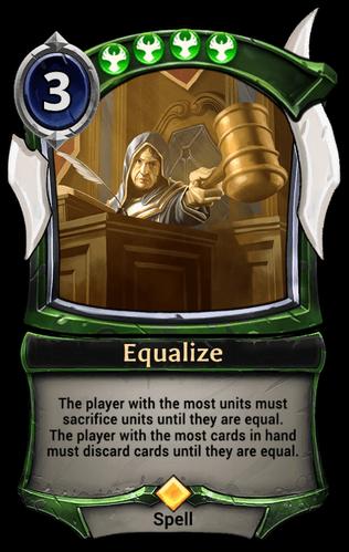 Equalize card