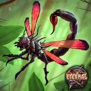 Full Art - Scorpion Wasp