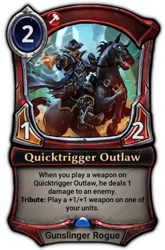 Quicktrigger Outlaw card