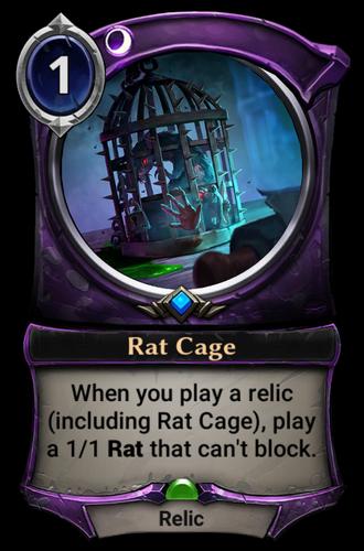 Rat Cage card