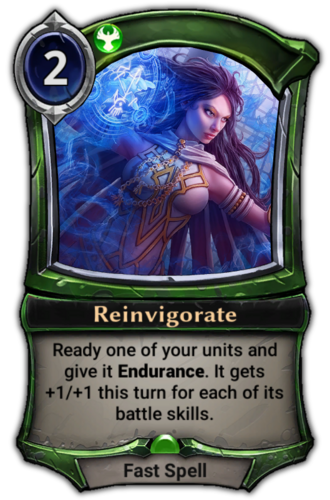 Reinvigorate card
