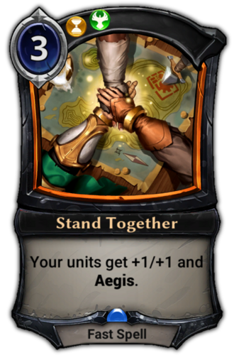 Stand Together card