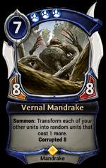 Vernal Mandrake