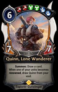 Quinn, Lone Wanderer