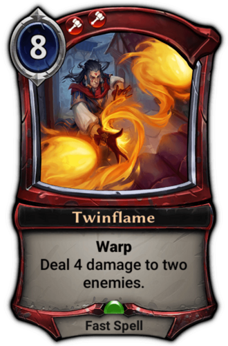 Twinflame card